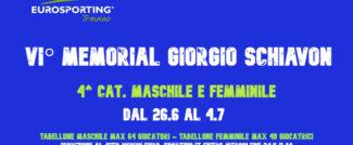 Torneo 4^ categoria Maschile e Femminile Treviso